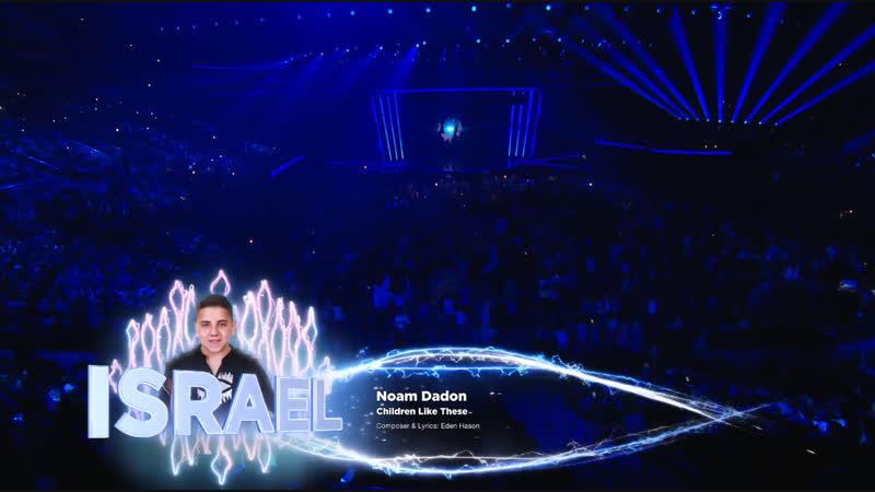 Noam Dadon - Children Like These - LIVE - Israel  - Junior Eurovision 2018