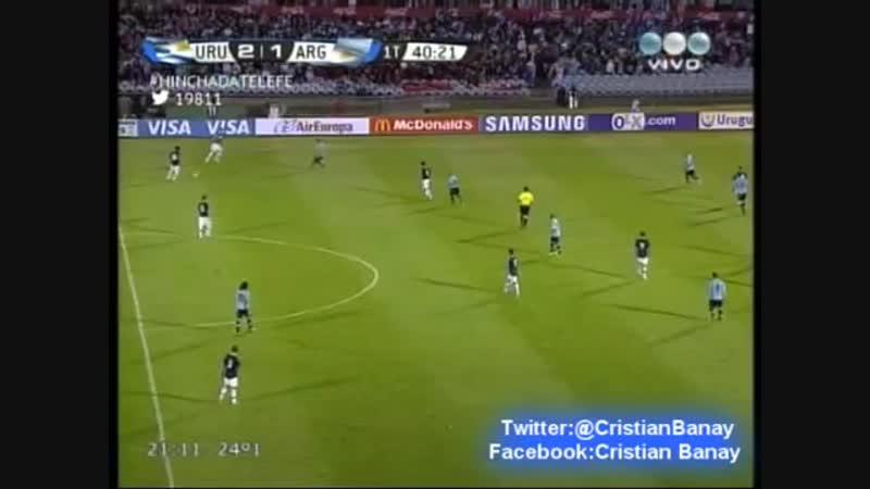 Uruguay 3 Argentina 2 Eliminatorias Brasil 2014 Los goles (15 10 2013) [VDownloader]