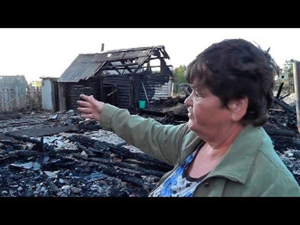 В Ульяновской области 9 летний мальчик спас всю семью из огня