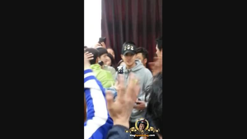2015.05.12. 김현중 KIM HYUN JOONG - 육군 30사단 입대 Enlistment