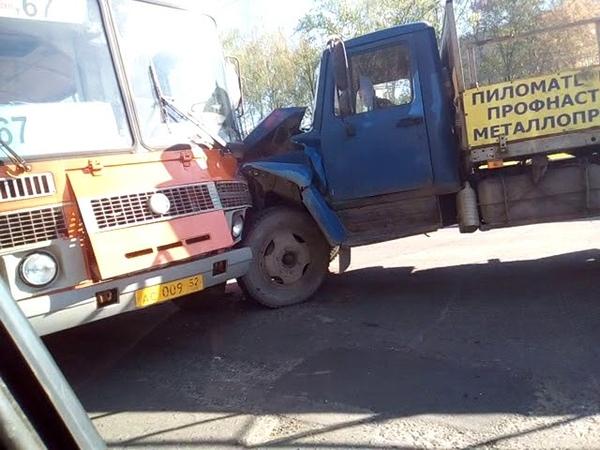 ДТП в Нижний Новгород