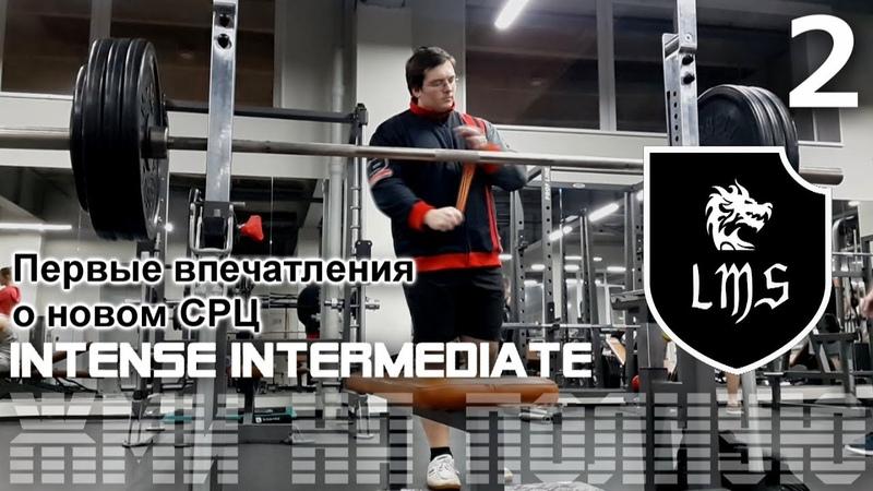 Жим лёжа без химии по системе LMS Intense Intermediate Видео 2