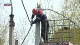 В поселке Спартак востановлено электроснабжение