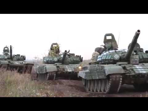 Учения Танковых войск на Урале 2017 / The exercises of the Armored Forces in the Urals 2017 vol 1