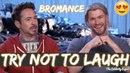Robert Downey Jr and Chris Hemsworth Funny Momenst Best Bromance Ever😘😂