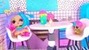 Куклы Лол Сюрприз! Завтрак с Плей До