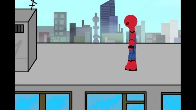 Трейлер фильма Человек Паук спасает город
