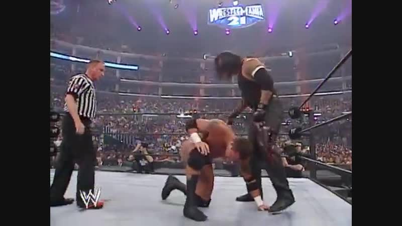 WWE Mania WrestleMania 21 The Undertaker vs Randy Orton