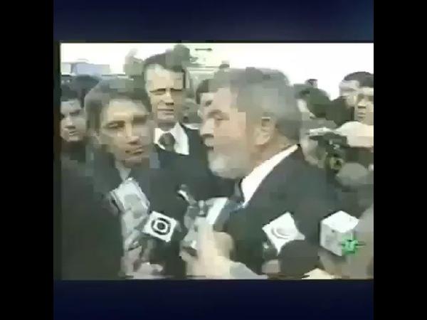 Lula falando que NÃO VAI A DEBATES!