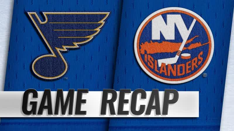 НХЛ - регулярный чемпионат. «Нью-Йорк Айлендерс» - «Сент-Луис Блюз» - 2:1 ОТ (1:0, 0:0, 0:1, 1:0)