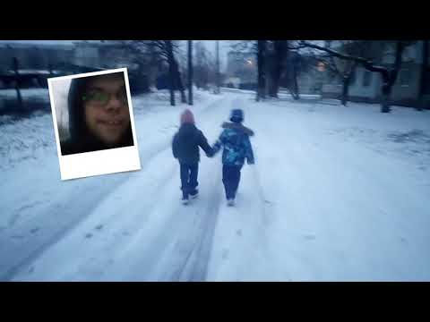 снег бердянск 22февраля2019