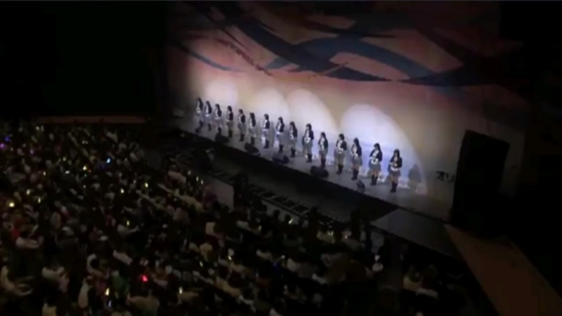 NMB48 Draft 3 Kenkyuusei - Teppen Tottande @ 180404 NMB48 Yagura Fuuko Sotsugyou Concert