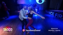 Carmine Finelli and Kseniya Serechenko Salsa Dancing at 2nd Moscow MamboMania weekend, Fri 08.03.19