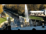 открытие фонтана самсон