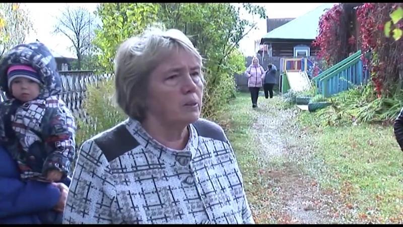 Бесправное закрытие в деревне Гаревая