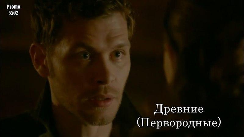 Древние (Первородные) 5 сезон 2 серия - Промо с русскими субтитрами The Originals 5x02 Promo