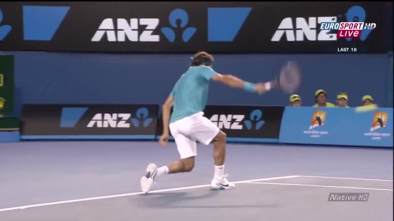 Federer vs Hewitt Australian Open 2010