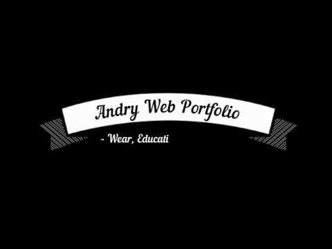 Andry Web Portfolio Wear, Education, Law etc - Портфолио ИП Новиков: Одежда, Образование и т.д.