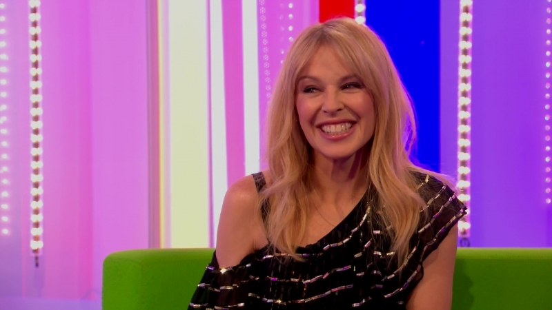Kylie Minogue - BBC1 The One Show 2018