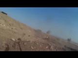 Неудачное наступление ИГИЛа в сентябре 2017 в Хаме, съёмка бармалеев