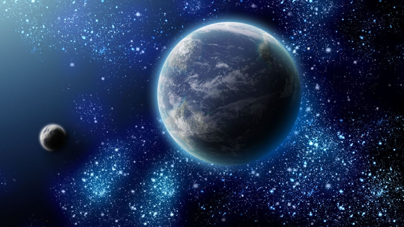 Если бы некоторые небесные объекты были ближе-Our sky, if some celestial bodies were closer to us