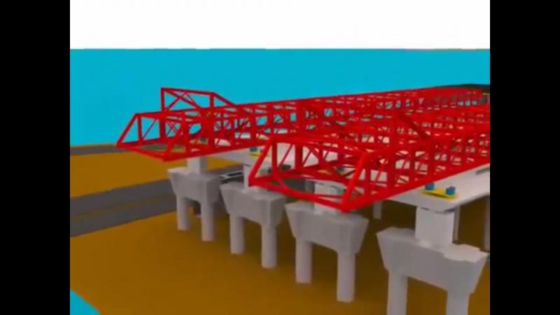 Технология строительства методом Надвижки