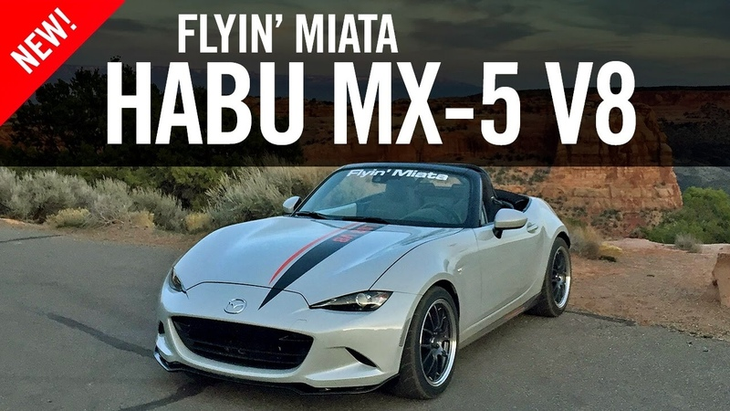 Flyin Miata Habu ND MX-5 V8 Review Road Test
