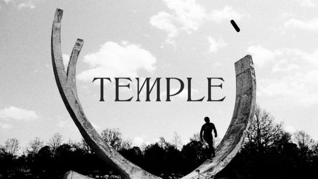 TEMPLE - A monochrome skateboarding quest
