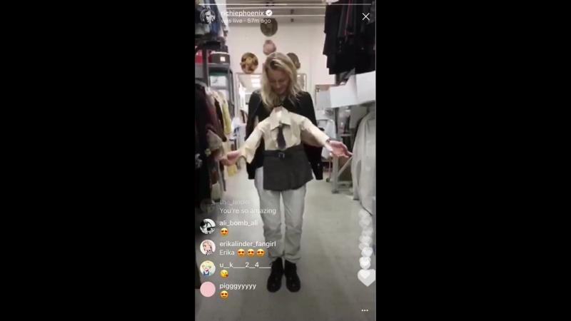 Erika Linder IG Live Stream 17 Apr