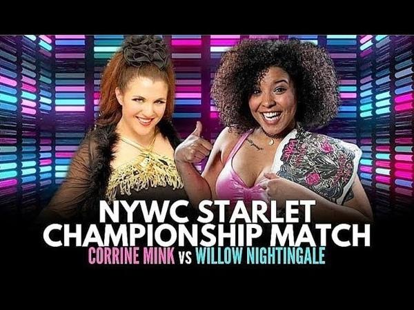 Willow Nightingale vs Corinne Mink Women's Wrestling