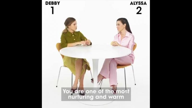 Алисса Милано и Дебби Райан для Teen Vogue.