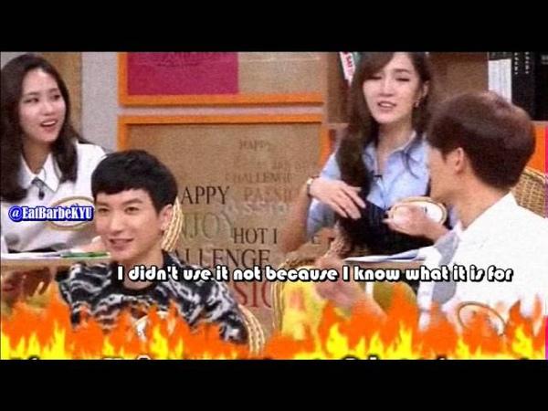[ENGSUB] Zhoumi once eating using ashtray