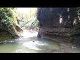 Живые ракушки, Танец ножек, Зеленый каньон (Три котла) в Новом Афоне. Абхазия