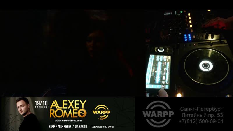 Lia Harris [pre-party] Alex Fisher Alexey Romeo Kefir Lia Harris