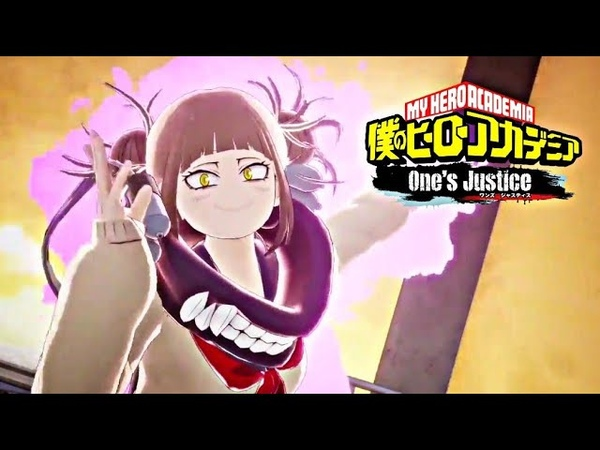 My Hero One's Justice PS4 Pro Gameplay - Himiko Toga Ultimate Attack