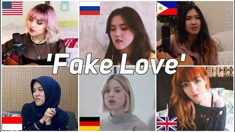 Who Sang It Better: Fake Love (방탄소년단) (eng ver) (US, Philippines, Indonesia, UK, Russia, Germany)