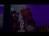 [ДАМБО MUSIC] СМОТРИ НА МЕНЯ - Майнкрафт 5 Ночей С Фредди Клип (На Русском) | FNAF 5 Nights Minecraft Parody Song