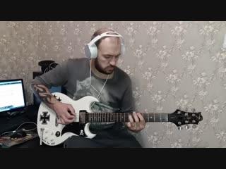 А.Федотов-Enter Sandman(Metallica guitar cover)