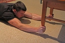 At Home Grip and Forearm Exercise: Chair-Up
