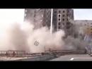 Неконтролируемый снос здания в Норильске