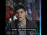 the cast of Shadowhunters choose between Valentine and Lilith for the villain that they would want to fight