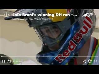 Loic Bruni Maribor WC winning run