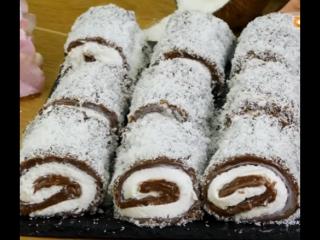 Нежный десерт без выпечки! Турецкий Султан Лукум.