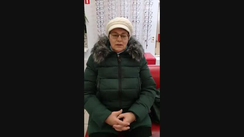 Наталья Алексеевна о прогрессивных очках
