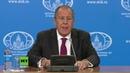 Lawrow: USA und ihr Kreis der Auserwählten bekämpfen mit allen Mitteln eine gerechte Weltordnung