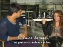 Cenas cortadas da entrevista de Miley Cyrus para o Fantastico