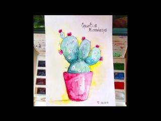 Бесплатный курс по скетчингу - Учимся рисовать растения (Подборка)