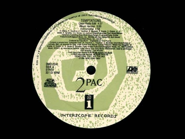 2Pac - Temptations (Easy Mo Bee Instrumental)