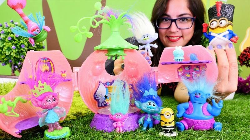 Çocuk videosu. Yeni Minion oyuncak açılışı.