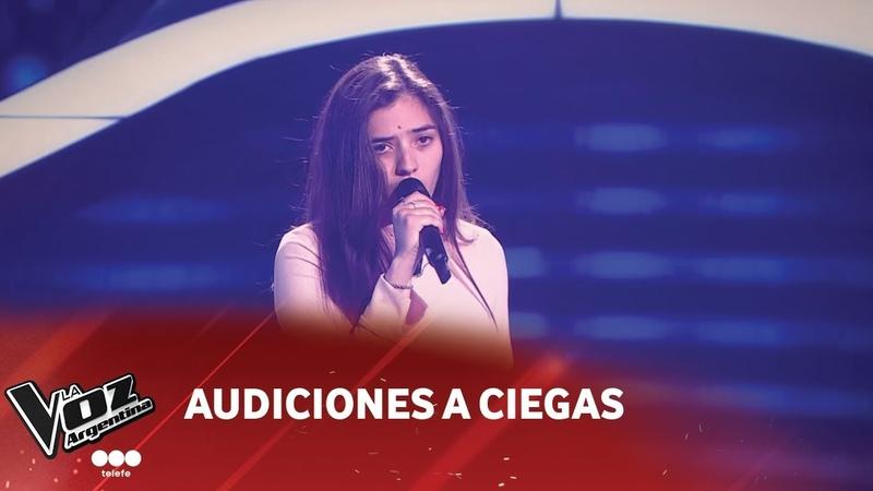 Camila Molina - Once mil - Abel Pintos - Audiciones a ciegas - La Voz Argentina 2018